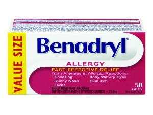 Shih Tzu allergies benadryl