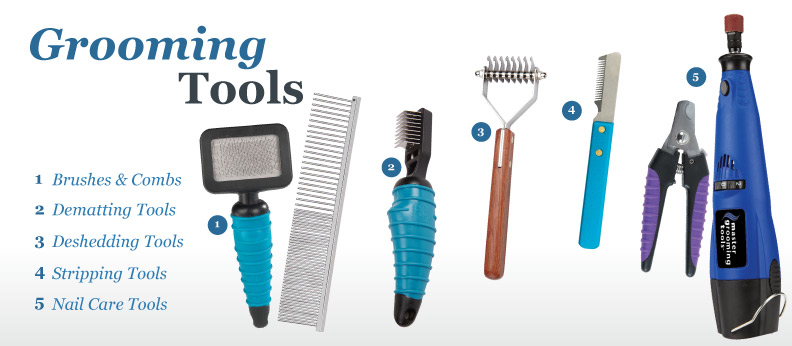 Dog Grooming Tools Explained