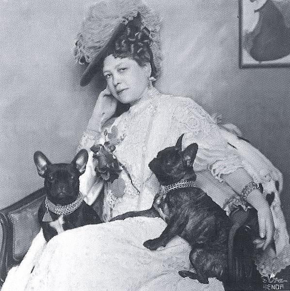 Anna Maria Sacher, Photographie um 1908