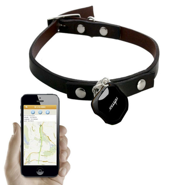tracking dog collar